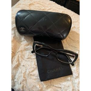 Chanel Black and Clear Eyeglasses